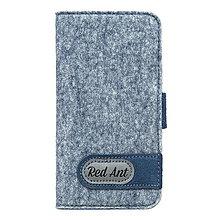 Na mobil - Knižkové puzdro iPhone6, modré FELT - 7895206_