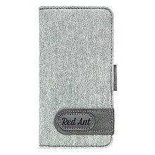 Na mobil - Knižkové puzdro iPhone6, sivé FELT - 7895392_