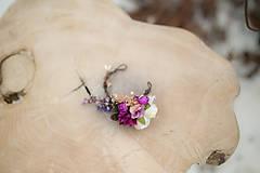 """Náramky - Kvetinový náramok na drôtiku """"sladká uspávanka"""" - 7895069_"""