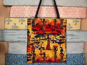 Nákupné tašky - Taška pro cestovatelku po Africe - 7896448_