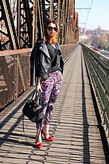 Nohavice - Vzorované nohavice - 7898615_