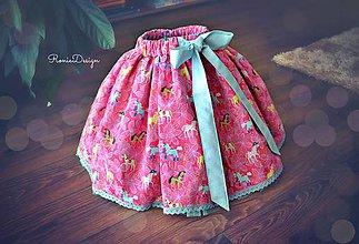 Detské oblečenie - suknička 2v1 - 7899142_