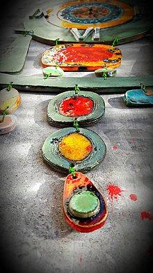 Hodiny - Hodiny zelené Miró - 7901264_