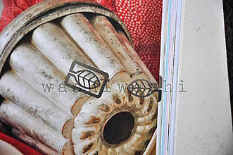 Iný materiál - spinka, sponka, oznacovac - listok - 7899188_