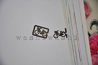 Iný materiál - spinka, sponka, oznacovac - bike 1 - 7899257_