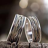 Prstene - Prepletené cesty osudu /prelínanie farieb/ - 7902490_