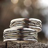 Prstene - Prepletené cesty osudu /prelínanie farieb/ - 7902493_