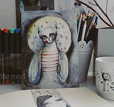Kresby - Dušička Mušia - 7900241_