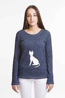 Mikiny - Mikina (motív Cat) - 7903291_