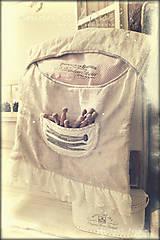 Úžitkový textil - kapsár Chic Romance  - 7901127_