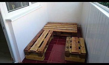 Nábytok - Sedenie na panelákový balkón - 7901989_