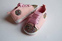 Topánočky - Capačky Crystal Multicolor - 7902958_