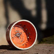 Pomôcky - Forma na výrobu domácího sýra (malá) - Oranžáda - 7899130_