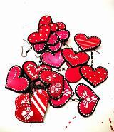 Náušnice - Luclac Folk Heart - 7899678_