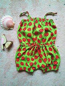 Detské oblečenie - Všade samé lienky - SKLADOM - 7903700_
