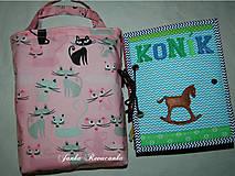 taška na textilnú knihu