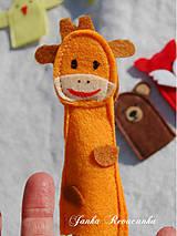 Hračky - žirafka - 7904030_