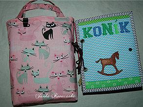 Iné tašky - taška na textilnú knihu - 7903964_