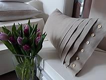 Úžitkový textil - Dekoračný vankúš Josephine - 7903311_