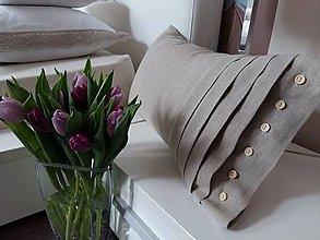 Úžitkový textil - Dekoračný vankúš Josephine (výplňový vankúš 50x30 cm) - 7903311_