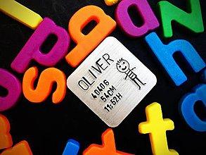 Kľúčenky - MAGNETKA chladničková s Tvojím textom :) - 7905968_