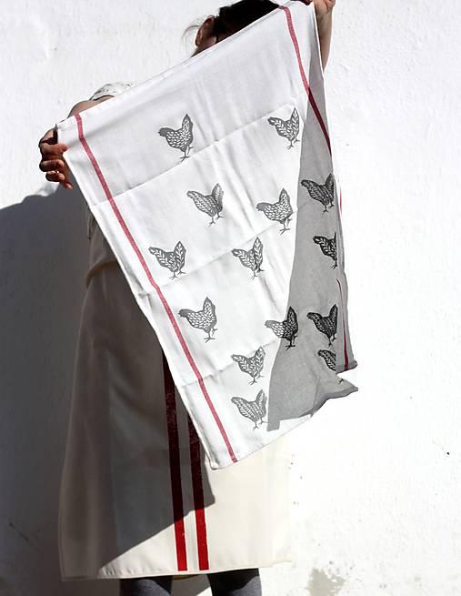 Úžitkový textil - utěrka/slípky - 7907604_