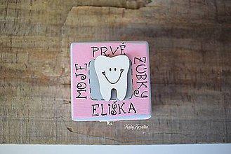 Detské doplnky - krabička na prvé vypadnuté zúbky - 7905481_