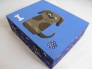 Detské doplnky - Krabička 26x21x8cm - 7904518_
