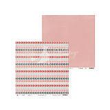 Papier - Sada obojstranných pevných papierov 30,5x30,5cm Piątek 13 - Colors of love - 7907631_