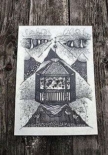 Kresby - Ilustracia - Altánok - 7907938_