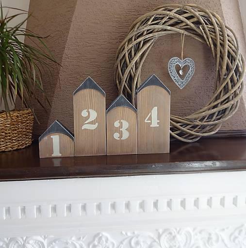 Domčeky s číslami