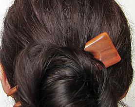 Ozdoby do vlasov - Drevená ihlica do vlasov - 7904970_