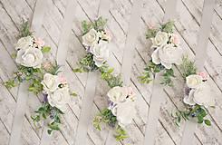 """Náramky - Kvetinový náramok pre družičky """"Rustic"""" - 7907822_"""