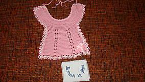Detské doplnky - Podbradník ružový - 7906806_
