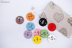 Hračky - Hračka húsenička - základné farby a čísla 1 až 10 (1-10) - 7904801_