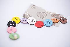 Hračky - Hračka húsenička - základné farby a čísla 1 až 10 (1-10) - 7904809_
