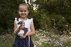 Hračky - Prevliekacia hračka koník biely (hnedy) - 7904926_