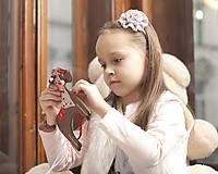 Hračky - Prevliekacia hračka koník biely (hnedy) - 7905023_