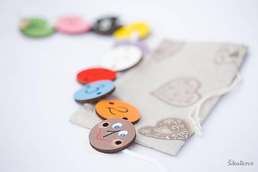Hračka húsenička - základné farby a čísla 1 až 10 (1-10)