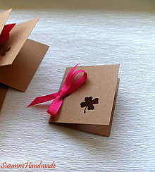 Papier - pozvánky, menovky, visačky / 15ks - 7904376_