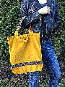 Nákupné tašky - Sametová elegancia - 7907205_