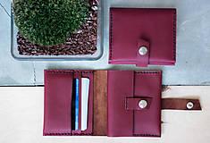 Peňaženky - _kožená peňaženka - 7907869_