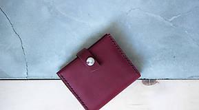 Peňaženky - _kožená peňaženka - 7907870_