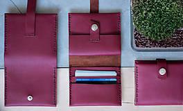 Peňaženky - _kožená peňaženka - 7907871_