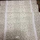 Úžitkový textil - štóla šedá - 7907720_
