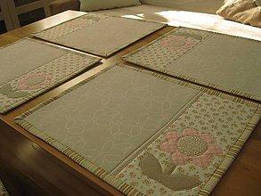 Úžitkový textil - prestieranie vintage - 7906725_