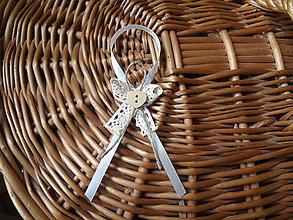 Darčeky pre svadobčanov - Mašličky na darčeky pre svadobčanov model č.2 - 7907277_