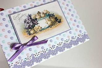 Papiernictvo - Pohľadnica plná kuriatok - 7904574_