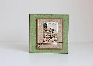 Papiernictvo - Veľkonočná pohľadnica - 7905024_