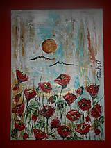 Obrazy - Červené sukničky - 7904234_